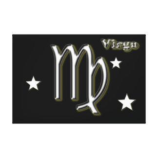 Lienzo Símbolo del cromo del virgo