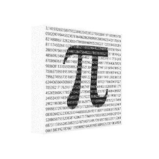 Lienzo Símbolo matemático del día negro original del