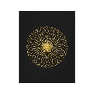 Lienzo Símbolo sagrado de la geometría