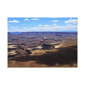 Lienzo Sombras sobre Canyonlands