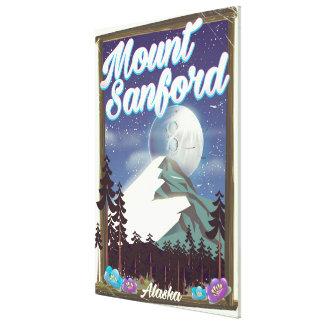 Lienzo Soporte Sanford Alaska