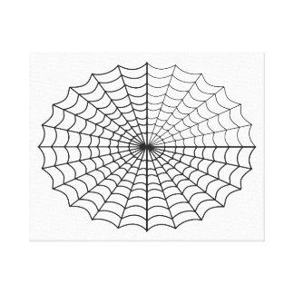 Lienzo Spiderweb