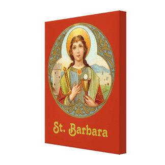 "Lienzo St. Barbara (BK 001) 16"" x20 "" x1.5 """