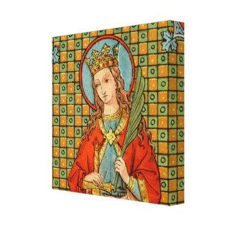 "Lienzo St. Barbara (JP 01) 12"" cuadrado del X12 "" x1.5"""