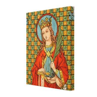 """Lienzo St. Barbara (JP 01) 16"""" x20 """" x1.5 """""""