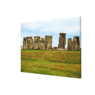 Lienzo Stonehenge escénico, Inglaterra