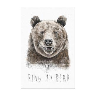 Lienzo Suene mi oso