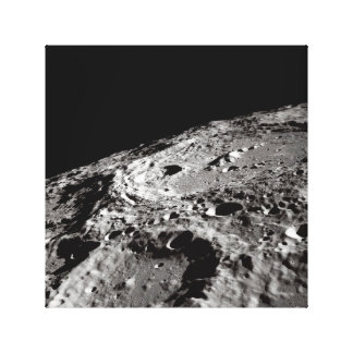 Lienzo superficie lunar