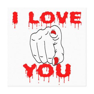 Lienzo Te amo