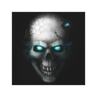 Lienzo Techno-Cráneo 2017