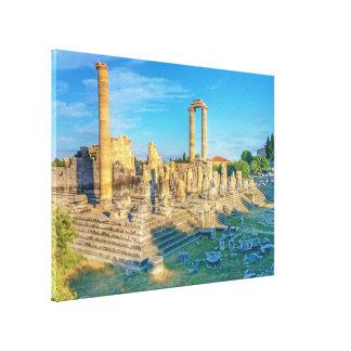 Lienzo Templo de Apolo