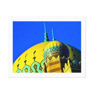 Lienzo Templo de la capilla de Trípoli