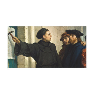 Lienzo Tesis de Martin Luther 95