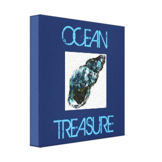 Lienzo Tesoro del océano