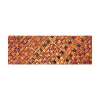 Lienzo Textura natural de la armadura de la hierba del