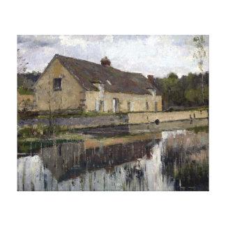 Lienzo Theodore Robinson en el canal