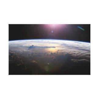 Lienzo Tierra hermosa Yuri Gagarin