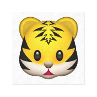 Lienzo Tigre - Emoji
