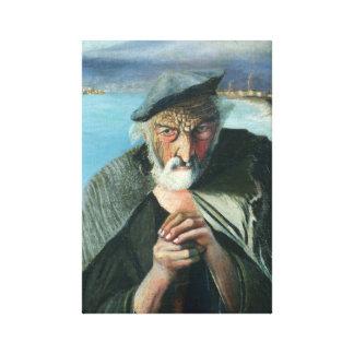 Lienzo Tivadar Csontváry Kosztka el viejo pescador