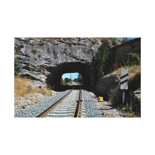 Lienzo train