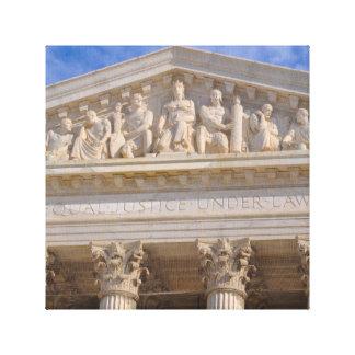 Lienzo Tribunal Supremo de Estados Unidos
