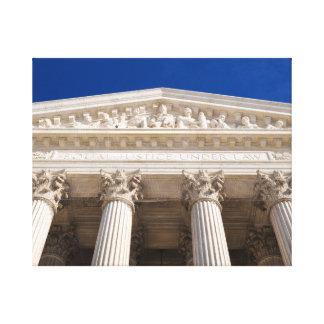 Lienzo Tribunal Supremo de los Estados Unidos