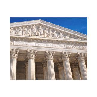 Lienzo Tribunal Supremo de los Estados Unidos de América