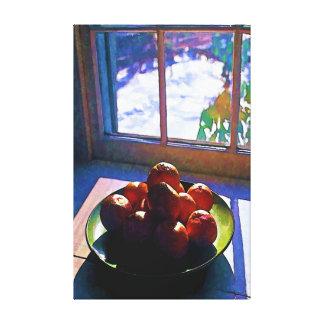 Lienzo Última hora de la tarde de las mandarinas