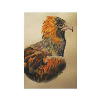 Lienzo Una mirada de las águilas