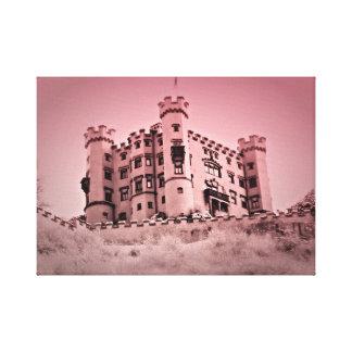 Lienzo Una vez sobre una imagen de la lona del castillo