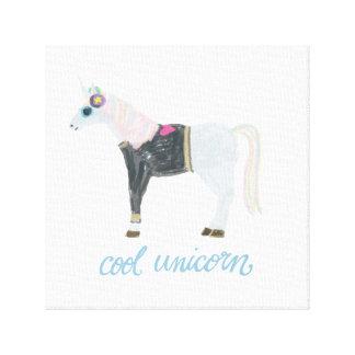 Lienzo Unicornio fresco