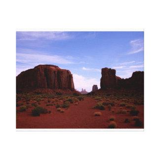 Lienzo Ventana del norte, valle del monumento, Arizona