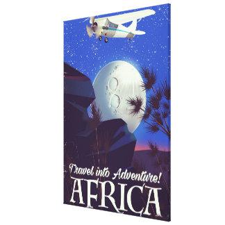 Lienzo ¡Viaje en aventura! África