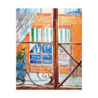 Lienzo Vincent van Gogh - carnicería de una ventana