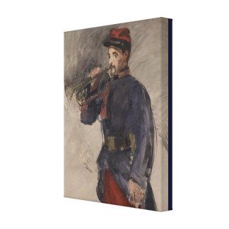 Lienzo Vintage el clarín de Eduardo Manet