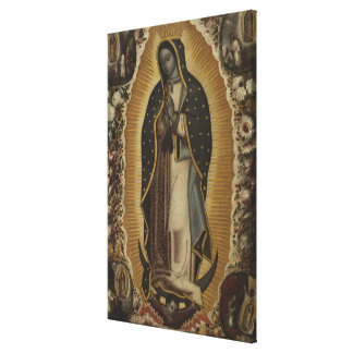 Lienzo Virgen de Guadalupe