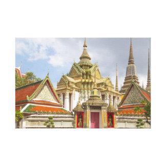 Lienzo Wat Pho, Bangkok, Tailandia