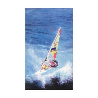 Lienzo Windsurf