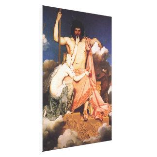 Lienzo Zeus y Thetis
