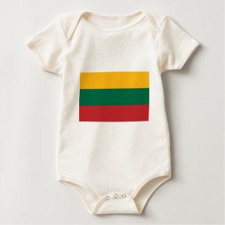 Lietuvos Valstybės Vėliava, Vytis, bandera de Body Para Bebé