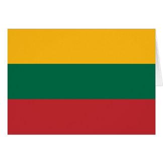 Lietuvos Valstybės Vėliava, Vytis, bandera de Tarjeta De Felicitación