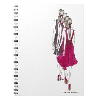 Life is a runway libro de apuntes con espiral