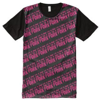 Life is soup and I'm a fork Camisetas Con Estampado Integral