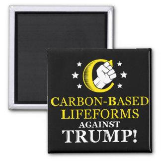 Lifeforms Carbono-basado divertido contra el Imán