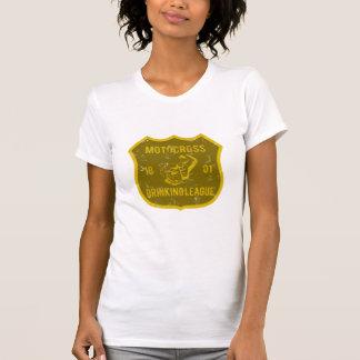 Liga de consumición del motocrós camisetas