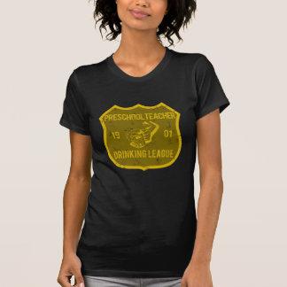 Liga de consumición del profesor preescolar camisas