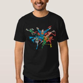 Liga de justicia del grupo 4 de América Camiseta