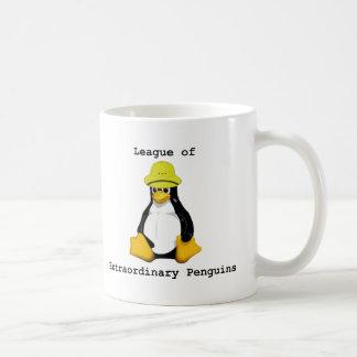 Liga de los pingüinos extraordinarios 2 taza de café