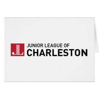 Liga menor de las tarjetas de nota de Charleston