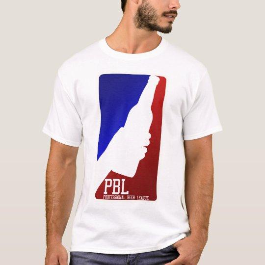 Liga profesional de la cerveza camiseta